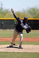 Jackson Quezada   - San Diego Padres - 2009 extended spring training.Photo by:  Bill Mitchell/Four Seam Images