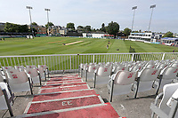 General view of the ground ahead of Essex CCC vs Yorkshire CCC, Specsavers County Championship Division 1 Cricket at The Cloudfm County Ground on 8th July 2019
