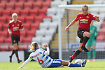 Katie Zelem of Manchester United Women and Kirsty Pearce of Reading