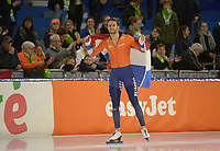 SPEEDSKATING: HEERENVEEN: 10-01-2020, IJsstadion Thialf, European Championship distances, 1500m Men, European champion Thomas Krol (NED), ©foto Martin de Jong