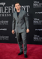 """LOS ANGELES, USA. September 30, 2019: Ed Skrein at the world premiere of """"Maleficent: Mistress of Evil"""" at the El Capitan Theatre.<br /> Picture: Jessica Sherman/Featureflash"""
