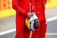 15th July 2021, Silverstone Circuit, Northampton, England;  SAINZ Carlos (spa), Scuderia Ferrari SF21 during the Formula 1 Pirelli British Grand Prix 2021, 10th round of the 2021 FIA Formula One World Championship