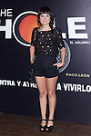 12.09,2012. Celebrities attend the presentation of the new season of  'The Hole' in Theater Caser Calderon of Madrid, with La Terremoto de Alcorcon and Alex O'Dogherty. In the image Eva Amaral (Alterphotos/Marta Gonzalez)