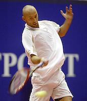 20031211, Rotterdam, LSI Masters, Peter Wessels in zijn partij tegen Beks