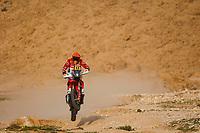 7th January 2021; Riyadh to Buraydah, Saudi Arabia; Dakar Rally, stage 5;  44 Sanz Laia (esp), Gas Gas, Gas Gas Factory Team, Moto, Bike, action during the 5th stage of the Dakar 2021 between Riyadh and Buraydah, in Saudi Arabia on January 7, 2021
