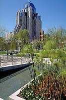 San Francisco urban garden. San Francisco California United States.