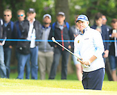 LEE WESTWOOD (ENG) during round 1 of the 2015 BMW PGA Championship over the West Course at Wentworth, Virgina Water, London. 21/05/2015<br /> Picture Fran Caffrey, www.golffile.ie:
