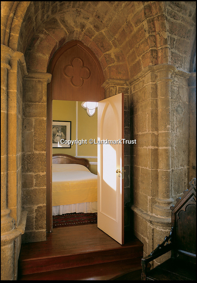 BNPS.co.uk (01202 558833)<br /> Pic: LandmarkTrust/BNPS<br /> <br /> Gothic Temple, in, Lincoinshire. <br /> <br /> Fully booked...Holidays less ordinary spark a booking frenzy in Brits.<br /> <br /> A charity which rents out historic buildings around Britain is celebrating a boom in business that has seen some of its properties booked out years in advance.<br /> <br /> The Landmark Trust has transformed almost 200 of the country's quirkiest buildings - from medieval castles to Tudor towers and even a former pig sty - into unique holiday homes.<br /> <br /> And they have become so popular with Brits looking for unusual places to escape to that some buildings are fully booked until 2016.<br /> <br /> Top of the most popular properties are Luttrell's Tower, a Georgian folly near Southampton, Hants, and Astley Castle, a Saxon stronghold dating back to the 12th century in Nuneaton, Warks.<br /> <br /> Other favourites include a Victorian pigsty near Whitby, North Yorks, which was built in the style of a Greek temple, and the London townhouse of 20th century poet John Betjeman.<br /> <br /> The buildings have become such a hit among holidaymakers that they are willing to fork out thousands of pounds to stay in them.<br /> <br /> While prices start at 10 pounds a night for cosy cottages in winter, a seven-night stay at the most popular properties in the height of summer can cost up to 3,000 pounds.<br /> <br /> But the fees are then ploughed back into the upkeep and restoration of the properties.