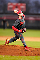 Greenville High School senior Rocco Reid (3) in action in a scrimmage against Hillcrest High School on Tuesday, March 2, 2021, at Grover Reid Field at Greenville High School in Greenville, South Carolina. (Tom Priddy/Four Seam Images)