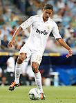 Real Madrid's Raphael Varane during Santiago Bernabeu Trophy.August 24,2011. (ALTERPHOTOS/Acero)