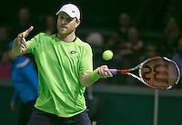 09-02-14, Netherlands,Rotterdam,Ahoy, ABNAMROWTT,  Michael Berrer<br /> Photo:Tennisimages/Henk Koster