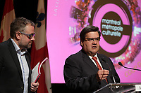 Mayor denis Coderre at<br /> tend the press conference for Montrea,l Metropole Culturelle's,Coup d'oeil,<br />  April 15, 2016 at City hall.<br /> <br /> Photo : Pierre Roussel - Agence Quebec Presse<br /> <br /> <br /> <br /> <br /> <br /> <br /> <br /> <br /> .