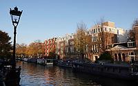 Nederland  Amsterdam  2020.   Prinsengracht.  Foto : ANP/ HH / Berlinda van Dam