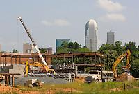 Construction in the Carolinas.