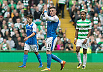 Celtic v St Johnstone …26.08.17… Celtic Park… SPFL<br />Michael O'Halloran applauds the saints fans as he is subbed<br />Picture by Graeme Hart.<br />Copyright Perthshire Picture Agency<br />Tel: 01738 623350  Mobile: 07990 594431
