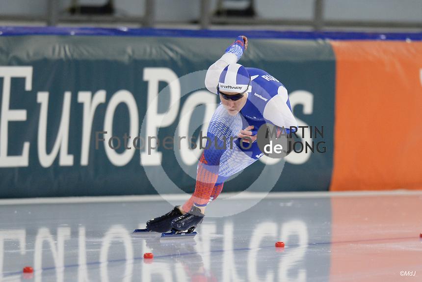 SPEEDSKATING: HEERENVEEN: 16-01-2021, IJsstadion Thialf, ISU European Speed Skating Championships, Angelina Golikova (RUS), ©photo Martin de Jong