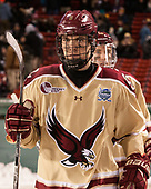 Casey Fitzgerald (BC - 5), Ryan Fitzgerald (BC - 19) - The Boston College Eagles defeated the Providence College Friars 3-1 (EN) on Sunday, January 8, 2017, at Fenway Park in Boston, Massachusetts.The Boston College Eagles defeated the Providence College Friars 3-1 (EN) on Sunday, January 8, 2017, at Fenway Park.