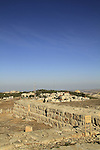 Samaria, ruins of a guard tower on Mount Gerizim