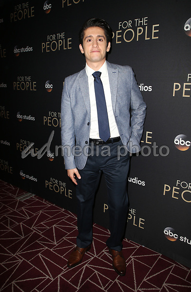 """10 March 2018-  West Hollywood, Wesam Keesh. Premiere Of ABC's """"For The People"""" held at The London West Hollywood. Photo Credit: Faye Sadou/AdMedia"""
