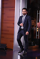 LOS ANGELES, CA - JULY 11: Manny Pacquaio attends a press conference on July 11, 2021 in Los Angeles for his upcoming Fox Sports PBC pay-per-view fight against Errol Spence Jr. Pacquaio vs Spence pay-per-view will be on August 21 at T-Mobile Arena in Las Vegas. (Photo by Frank Micelotta/Fox Sports/PictureGroup)