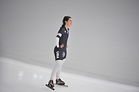 OLYMPIC GAMES: PYEONGCHANG: 10-02-2018, Gangneung Oval, Long Track, 3000m Ladies, Carlijn Schoutens (USA), ©photo Martin de Jong
