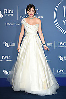 Eliza Cummings<br /> arriving for the 2018 IWC Schaffhausen Gala Dinner in Honour of the BFI at the Electric Light Station, London<br /> <br /> ©Ash Knotek  D3437  09/10/2018