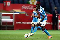 Napoli's Kalidou Koulibaly in action during the Italian Cup football final match between Napoli and Juventus at Rome's Olympic stadium, June 17, 2020. Napoli won 4-2 at the end of a penalty shootout following a scoreless draw.<br /> UPDATE IMAGES PRESS/Isabella Bonotto