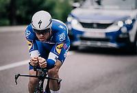Zdenek Stybar (CZE/Quick-Step Floors)<br /> <br /> stage 16: Trento – Rovereto iTT (34.2 km)<br /> 101th Giro d'Italia 2018