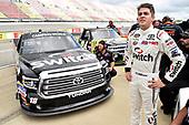 NASCAR Camping World Truck Series<br /> LTI Printing 200<br /> Michigan International Speedway, Brooklyn, MI USA<br /> Saturday 12 August 2017<br /> Noah Gragson, Switch Toyota Tundra<br /> World Copyright: Nigel Kinrade<br /> LAT Images