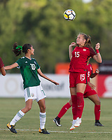 Bradenton, FL - Sunday, June 12, 2018: Natalia Staude during a U-17 Women's Championship Finals match between USA and Mexico at IMG Academy.  USA defeated Mexico 3-2 to win the championship.