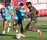 Atletico de Madrid's Thomas Lemar during training session. September 7,2020.(ALTERPHOTOS/Atletico de Madrid/Pool)