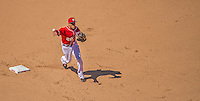 26 May 2013: Washington Nationals shortstop Ian Desmond in action against the Philadelphia Phillies at Nationals Park in Washington, DC. The Nationals defeated the Phillies 6-1, taking the rubber game of their 3-game weekend series. Mandatory Credit: Ed Wolfstein Photo *** RAW (NEF) Image File Available ***