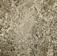 historical aerial photograph Escondido, San Diego County, California, 1967