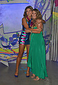 CORAL GABLES, FLORIDA - JULY 22: Alejandra Espinoza and Carolina Sarassa attends Premios Juventud 2021 - Arrivals at Watsco Center on July 22, 2021 in Coral Gables, Florida. ( Photo by Johnny Louis / jlnphotography.com )