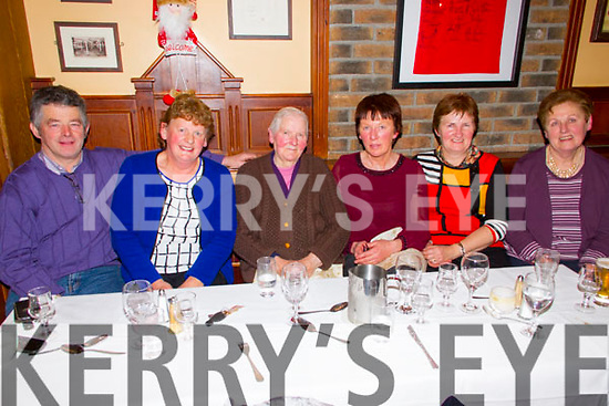 ***Reproduction Free***<br /> JDM Photography.ie<br /> Photographer: Michael Collins<br /> <br /> Pictured in Leen's Hotel, Abbeyfeale, on Saturday night for the 80th birthday celebrations of Kitty Daly was L-R: Mike and Mary Keating, Rathkeale, Kitty Daly and Margaret McElligot, Templeglantine, Margaret Mulcahy, Tournafulla and Mary King, Templeglantine.