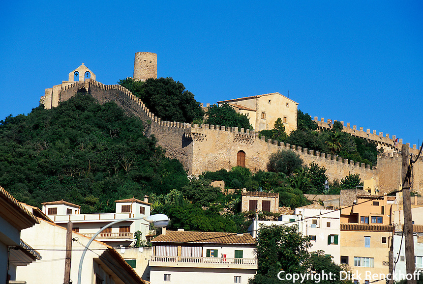 Burg Castell Capdepera, Mallorca, Spanien