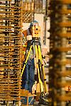 Surveyor, high rise construction