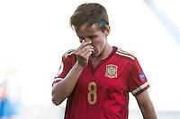 Spain's Sonia Bermudez during the match of  European Women's Championship 2017 at Leganes, between Spain and Finland. September 20, 2016. (ALTERPHOTOS/Rodrigo Jimenez) NORTEPHOTO