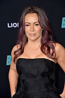 """LOS ANGELES, USA. December 11, 2019: Alyssa Milano at the premiere of """"Bombshell"""" at the Regency Village Theatre.<br /> Picture: Paul Smith/Featureflash"""