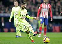 Futbol Club Barcelona's Leo Messi  during La Liga match. November 24,2018. (ALTERPHOTOS/Alconada)<br /> Liga Campionato Spagna 2018/2019<br /> Foto Alterphotos / Insidefoto <br /> ITALY ONLY