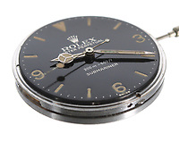 BNPS.co.uk (01202 558833)<br /> Pic: GardinerHoulgate/BNPS<br /> <br /> A rare Rolex watch that retailed for just £60 is now set to sell for a staggering £200,000 - as it still has its original dial.<br /> <br /> The 1962 Rolex Oyster Perpetual Submariner 5512/5513 stainless steel gentleman's wristwatch is so valuable because of its 3-6-9 Explorer dial.<br /> <br /> The majority of dials would have been replaced when they were serviced in the intervening six decades, so finding a timepiece with an original dial is the holy grail for collectors. If the same Rolex had a later dial, it would be worth a tenth of the value.<br /> <br /> The watch has been in a private collection in the Scottish Highlands for the past 25 years. It is going under the hammer with auctioneers Gardiner Houlgate, of Corsham, Wilts.