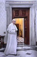 Pope Francis Ethiopian Prime Minister Abiy Ahmed Ali  private audience the Vatican January 21,2019