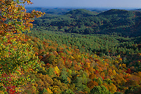 Blue Valley from Blue Valley Overlook<br /> Blue Ridge Mountains<br /> Nantahala National Forest<br /> Macon County,  North Carolina