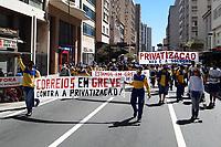 26/08/2020 - PROTESTOS DOS FUNCIONÁRIOS EM GREVE DOS CORREIOS