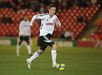 Pictured: New signing for Swansea Gylfi Sigurdsson. Saturday 07 January 2012<br /> Re: FA Cup football Barnsley FC v Swansea City FC at the Oakwell Stadium, south Yorkshire.