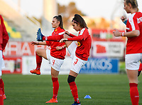 20190227 - LARNACA , CYPRUS : Austrian Yvonne Weilharter pictured during warming up of a women's soccer game between the Super Falcons of Nigeria and Austria , on Wednesday 27 February 2019 at the AEK Arena in Larnaca , Cyprus . This is the first game in group C for both teams during the Cyprus Womens Cup 2019 , a prestigious women soccer tournament as a preparation on the Uefa Women's Euro 2021 qualification duels. PHOTO SPORTPIX.BE | DAVID CATRY