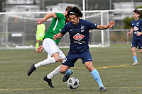 Gavin Hoy of the North Wellington FC during the Central League Football -  North Wellington FC v Wairarapa United at Alex Moore Park ( Alex Moore Artificial), Johnsonville, New Zealand on Saturday 29 May 2021.<br /> Copyright photo: Masanori Udagawa /  www.photosport.nz