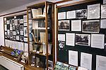 Grantchester Cambridgeshire UK The Rupert Brooke Museum interior wall.