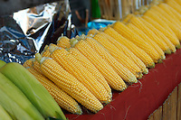 Camden lock - London. Sweetcorn stall
