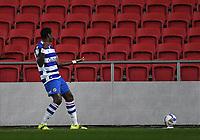 16th February 2021; Ashton Gate Stadium, Bristol, England; English Football League Championship Football, Bristol City versus Reading; Lucas Joao of Reading celebrates scoring in the 41st minute 0-1